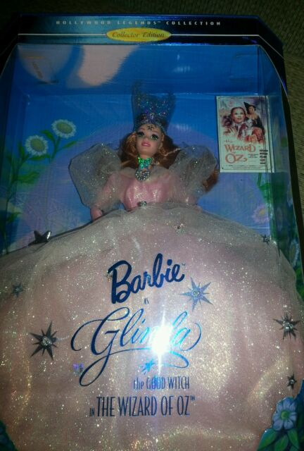 NIB BARBIE DOLL 1995 THE WIZARD OF OZ AS GLINDA THE GOOD WITCH