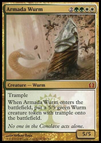 ARMADA WURM Magic RTR Mint WURM DELL/'ARMATA