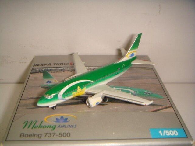 Herpa Wings 500 vías Airlines B737-500  2003s Coloree Modelo Club  1 500 NG