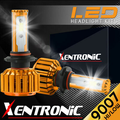 XENTRONIC LED Headlight kit 9007 HB5 White for 1997-2004 Ford F-450 Super Duty