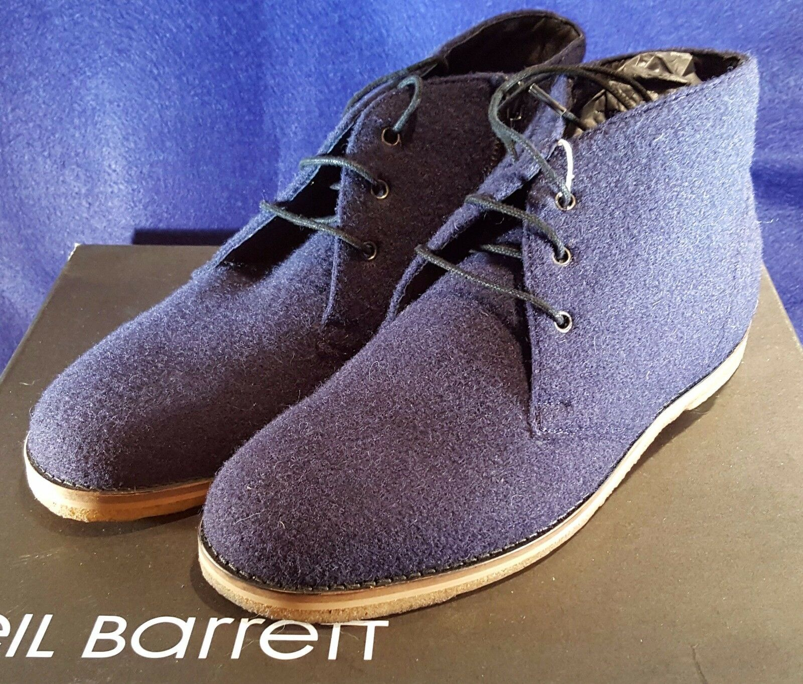 WARM NEIL BARRETT WOOL CESTER