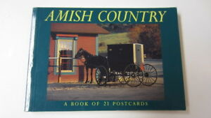 Postcard-Amish-Country-by-BrownTrout-Staff-1996-Paperback-21-Postcards-FS