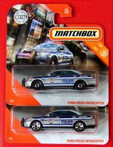 MATCHBOX-2020-2-Stueck-Rad-Varianten-FORD-POLICE-INTERCEPTOR-28-100