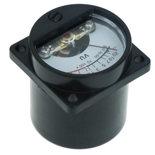 6-12V panel VU meter bulb warm back light recording audio level amp meter  DFI