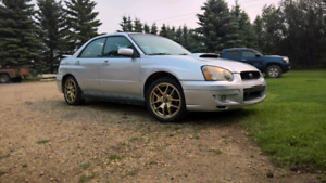 04 WRX - Built Engine, Includes Winters - Need to Sell!!