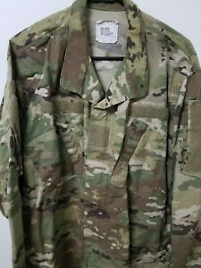 Details about OCP SCORPION ARMY/AIR FORCE ISSUE UNIFORM TOP LARGE REGULAR  COTTON/NYCO