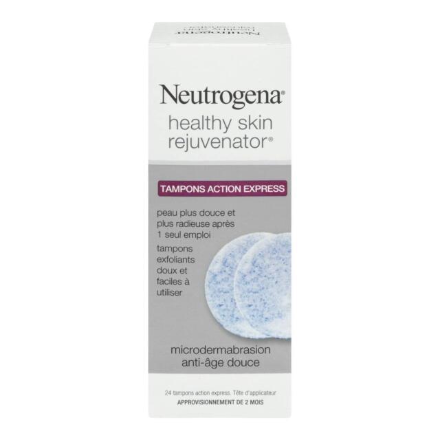 Neutrogena Healthy Skin Rejuvenator Rapid Results Pads, 24 Count