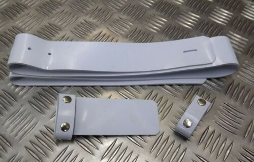 Genuine Military Issue White PVC Patent Ceremonial All Sizes Parade Belt
