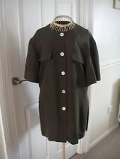 BNWT BOUTIQUE BY ELEGANCE S.A. PARIS SILK BLOUSE IN SIZE 14 WAS £179
