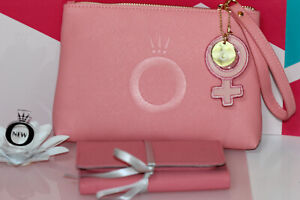 Details about AUTHENTIC NIB PANDORA ME by Millie Bobby Brown LE clutch/  jewelry organizer pink