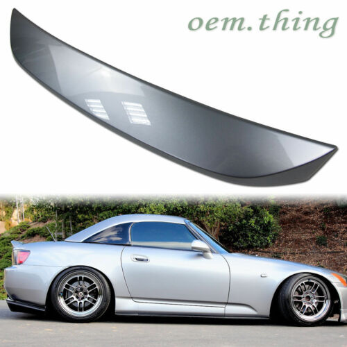 STOCK USA Painted Honda Convertible Rear OE Trunk Spoiler S2000 COLOR #NH630M