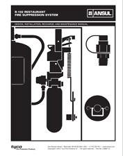 ansul r102 restaurant fire system design,installation,maintenance manual