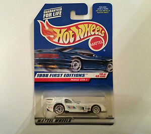 Hot-Wheels-1998-First-Editions-Panoz-GTR-1-Car-19-of-40-Cars-NIB