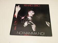 RENATO ZERO - NO MAMMA, NO! - LP GATEFOLD RCA 1978 ITALY - PL 31351 - EX++/VG+