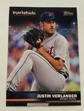 Justin Verlander 50 Topps 2016 Detroit Tigers Marketside EXMnt   Single  HS