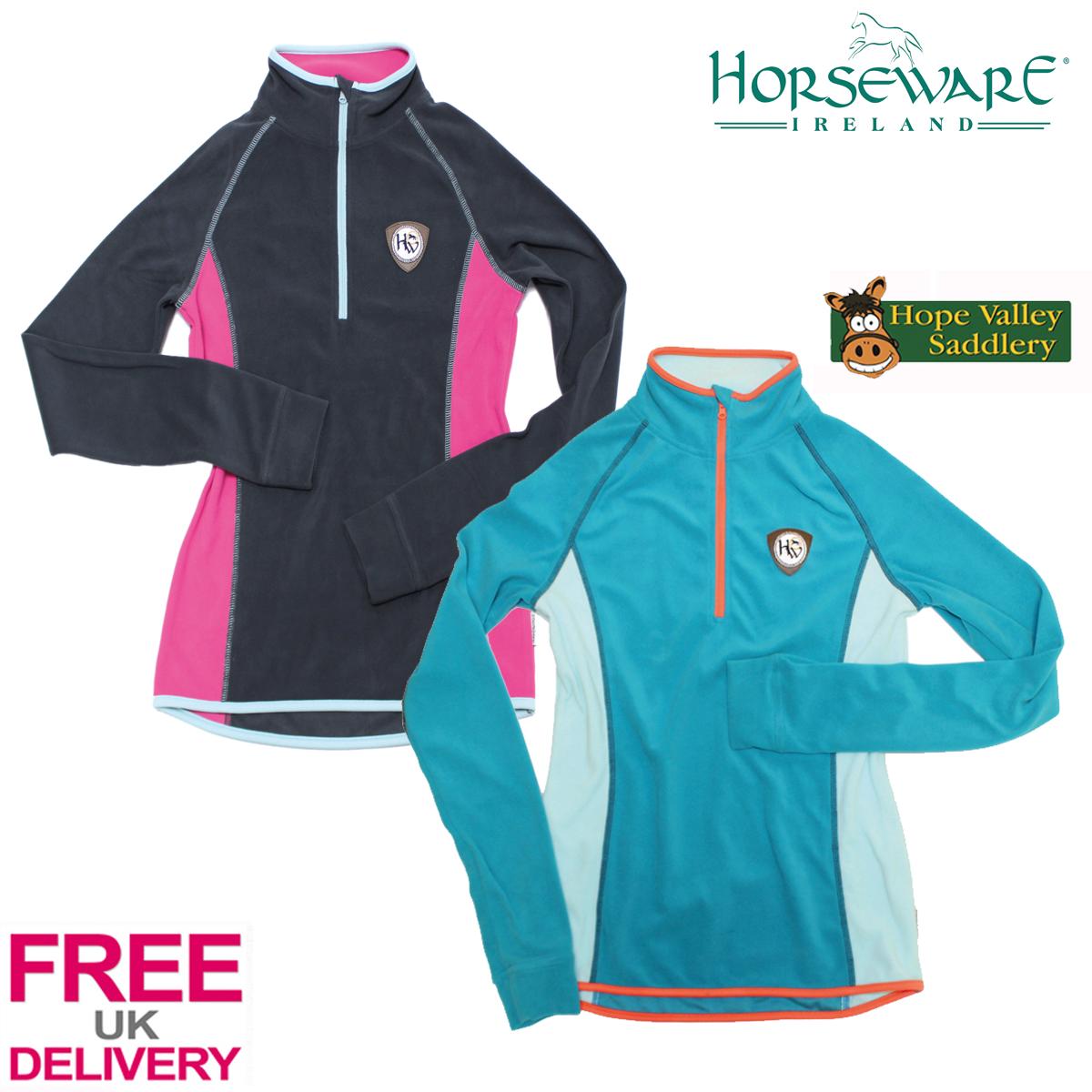 Horseware Fiona Mezza Zip Donna In Pile Top spedizione gratis in UK