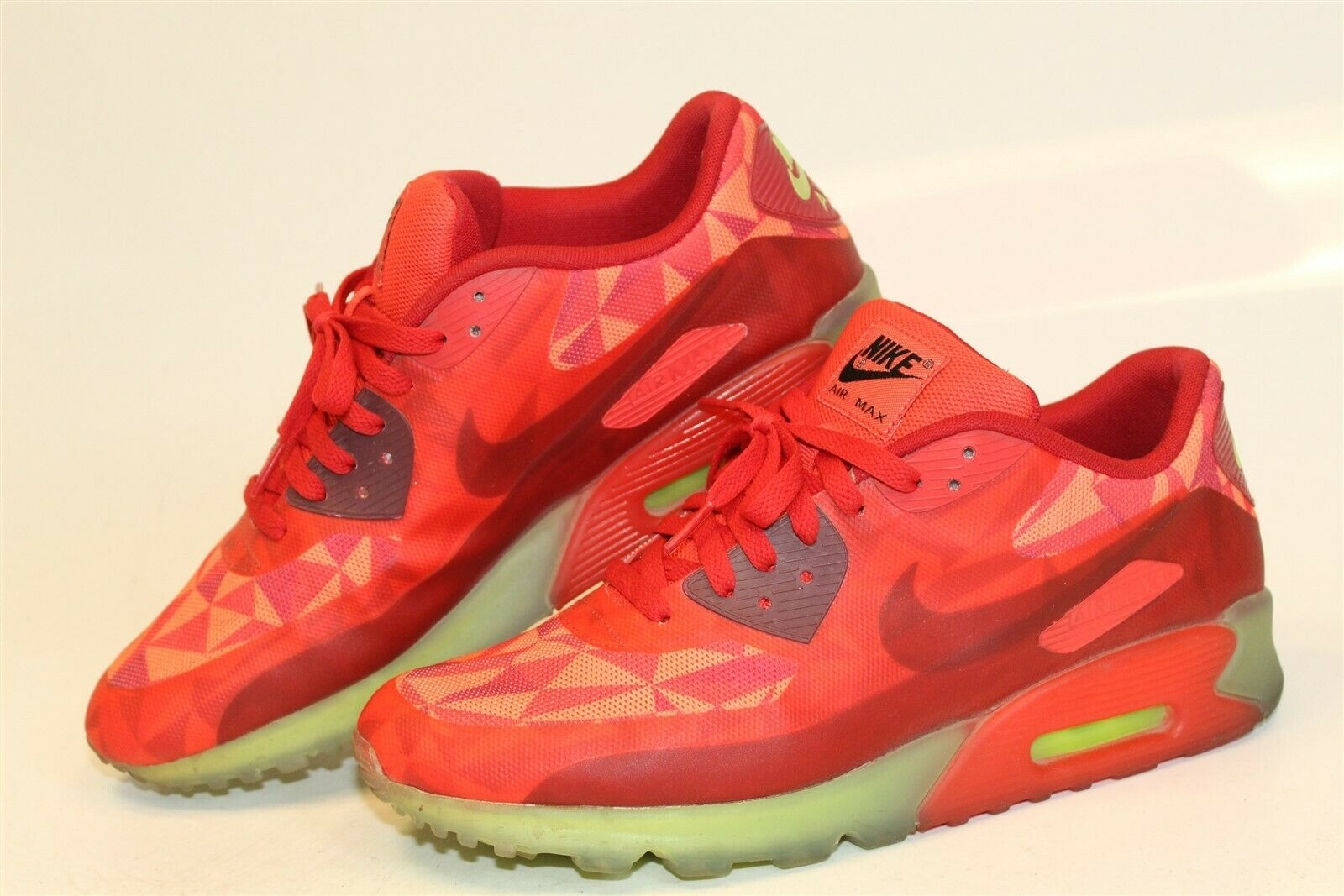 Hacer bien cosecha Aprobación  Nike Air Max 90 Ice Gym Red Le Size 11.5 Deadstock for sale online | eBay