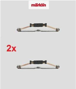 2x-Marklin-7164-H0-escala-1-87-AC-trenes-Patin-de-contacto-Current-pickup-shoe