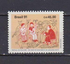 S19264) Brasilien Brazil 1991 MNH Neu Folklore Festival 1v