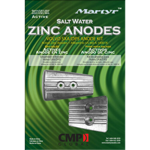 DPS Drive Replacement Anode Zinc Anode for Volvo Penta SX-A
