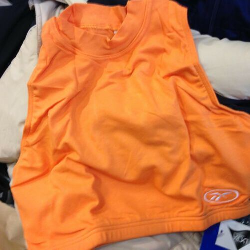 BRA FITNESS TOP IN REEBOK IN SIZE 16 UK IN ORANGE AT6