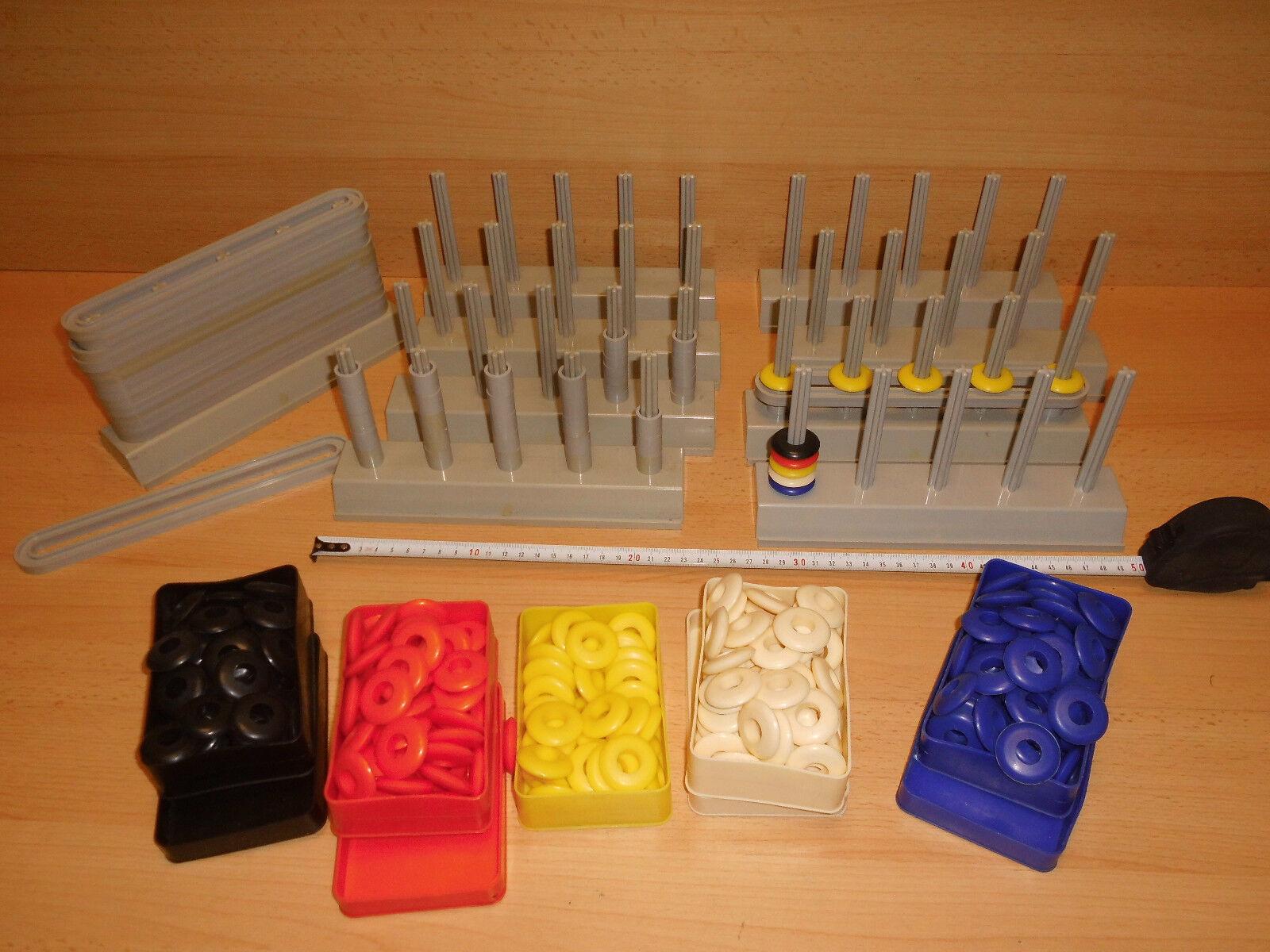 10 x Aufbauständer Rechenhilfen Lernhilfen f Kinder aus PVC ASCO Made in Franc
