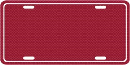 METAL ALUMINUM LICENSE PLATE BLANK TAG NUMBER PLATE EMBOSSED BORDER NEW DIY #002