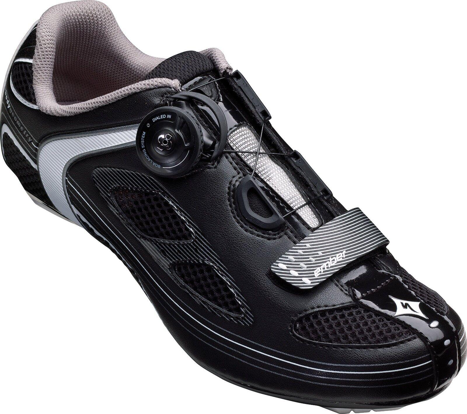Specialized Ember Women's Road Bike Cycling shoes SZ 36 6 3-Bolt SPD-SL BOA Tri