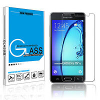Clear Premium Tempered Glass Film Guard Screen Protector For Samsung Galaxy On 5