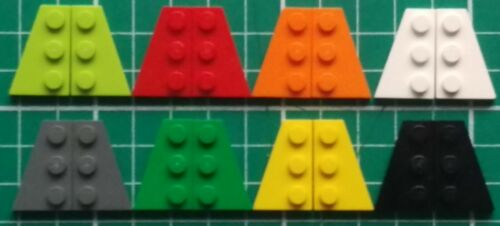 Plate 3 x 2 Left Right x2 pairs LEGO 43722 43723 Wedge