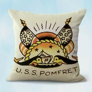 pillow-case-on-sofa-ailor-Jerry-U-S-S-Pomfret-submarine-cushion