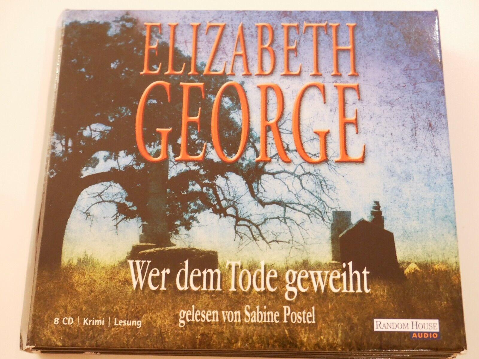 Hörbuch von : Elizabeth George: Wer dem Tode geweiht - 8 CDs - Elizabeth George