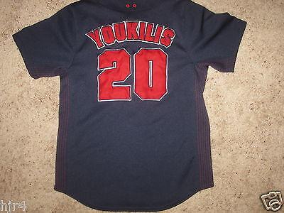 Sport MüHsam Kevin Youkilis Boston Red Sox Mlb Trikot Jugendliche M 8 Mittelgroß Mit Einem LangjäHrigen Ruf