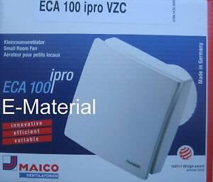 Maico Eca 100 Ipro Vzc Lufter Badlufter Mit Nachlauf Ventilator