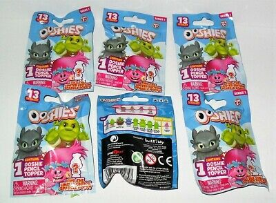 OOSHIES DREAMWORKS PENCIL TOPPER TROLLS SHREK /& MORE 2 RANDOM BLIND BAGS