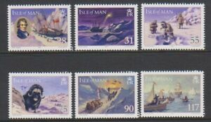 Isle-of-Man-2007-International-Polar-Year-set-MNH-SG-1387-92