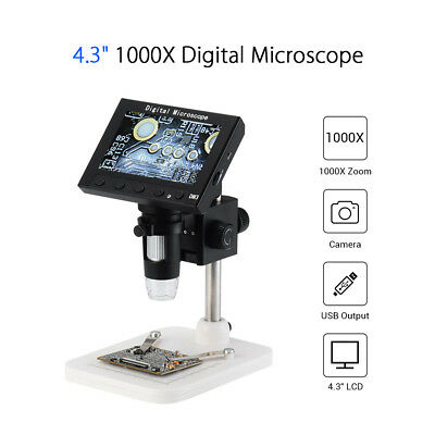 Professional Digital Microscope 1000X Electronic USB Magnifier with Adjustable Holder