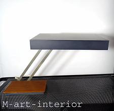 60er Kaiser Tisch Lampe Leuchte Teak Holz Schwenkarm Design Light Desk Lamp 60s