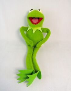 Vintage-1981-Fisher-Price-857-The-Muppets-Kermit-Juguete-Suave-Felpa-The-Frog-15-034