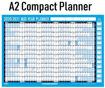 2020-2021 Academic/Student Mid-Year Wall Calendar ...