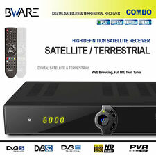 BWare Combo DVB-S/ S2 HD + DVB-T  Receiver LAN USB PVR Ready Full 1080p