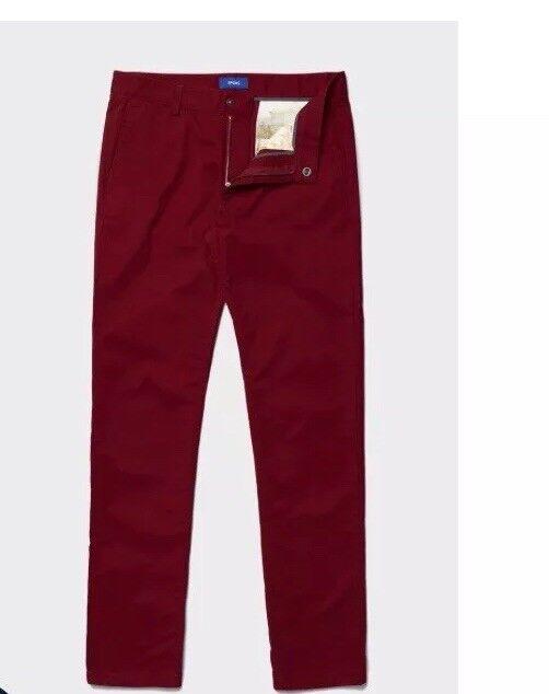 Spoke Stretch Cotton Chinos - Bespoke Men's Trousers Größe W 37 Box76