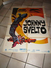 MANIFESTO  JOHNNY SVELTO (BLACK BELT JONES), 1974 E.IAIA AUTO CAR