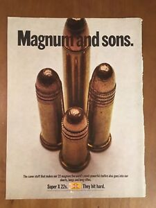 1970-Magnum-And-Sons-Super-X-22s-Winchester-Bullets-Vintage-Advertising-Print