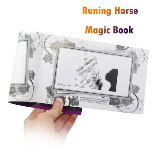 Running Horse Movie Book 3D Animated Funny Moving Animated Illusion Magic Trick