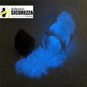 Grano Arena En Vidrio que Se Ilumina Glow Para Colorear Latas 1 / 2mm