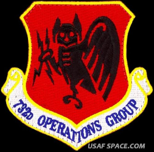 ORIGINAL PATCH MQ-9 Reaper USAF 732nd OPERATIONS GROUP MQ-1 Predator