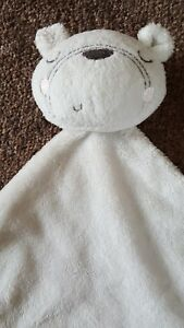 George Asda Sleepy White Teddy Bear