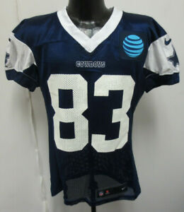 new product 4f281 b4d20 Details about DALLAS COWBOYS NIKE NFL PRACTICE WORN JERSEY TERRANCE  WILLIAMS 17-44 N WI #83