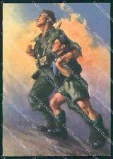 Militari Fascismo Gioventù Italiana del Littorio Tafuri FG cartolina XF4028